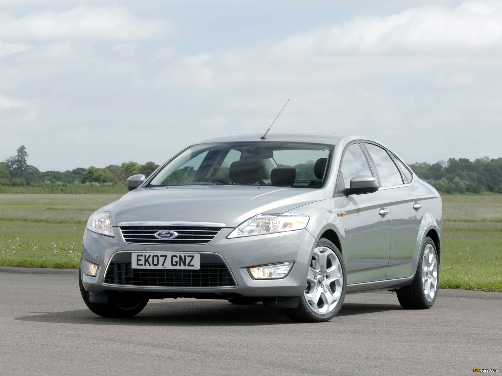 ford mondeo седан iv #11