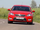 Ford Mondeo Hatchback UK-spec 2007–10 photos