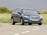 Ford Mondeo Turnier UK-spec 2007–10 wallpapers