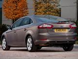 Ford Mondeo Hatchback UK-spec 2010–13 images