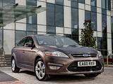 Ford Mondeo Hatchback UK-spec 2010–13 photos