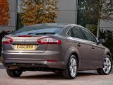 Ford Mondeo Hatchback UK-spec 2010–13 pictures