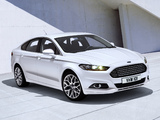 Ford Mondeo Sedan 2013 wallpapers