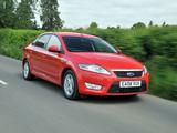 Images of Ford Mondeo Hatchback UK-spec 2007–10