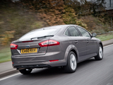 Images of Ford Mondeo Hatchback UK-spec 2010–13