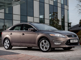 Photos of Ford Mondeo Hatchback UK-spec 2010–13