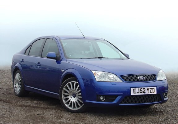 Ford Mondeo St220 Sedan Uk Spec 200204 Wallpapers