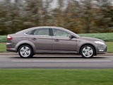 Ford Mondeo Hatchback UK-spec 2010–13 wallpapers