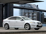 Ford Mondeo Titanium X Hatchback UK-spec 2010–13 wallpapers