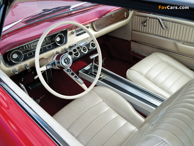 Mustang 260 Coupe 1964 images (640 x 480)
