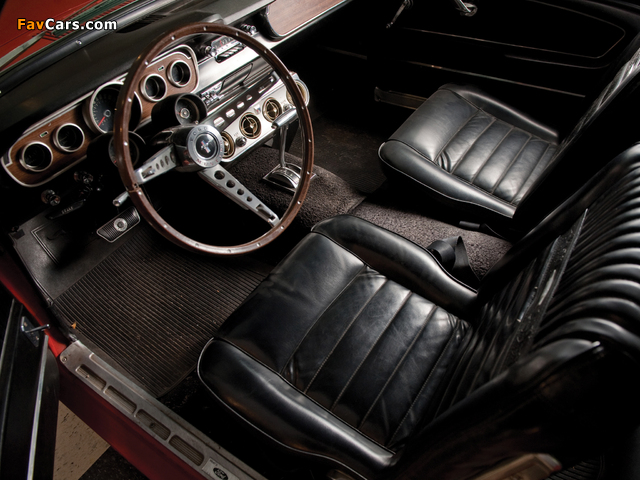 Mustang GT Coupe 1965 images (640 x 480)