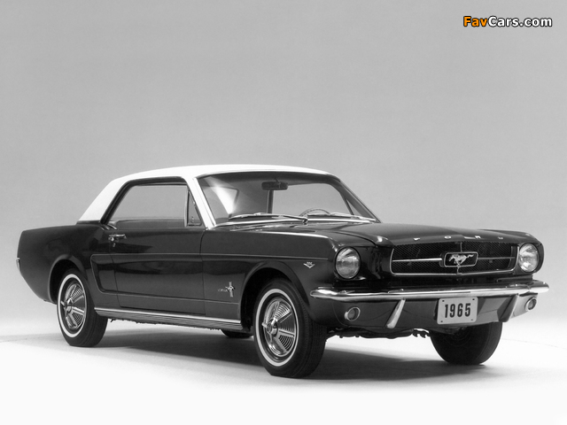 Mustang Coupe 1965 pictures (640 x 480)