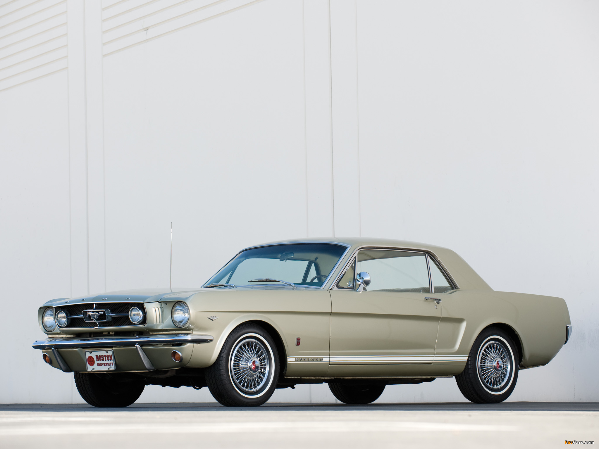 Mustang GT Coupe 1965 wallpapers (2048 x 1536)