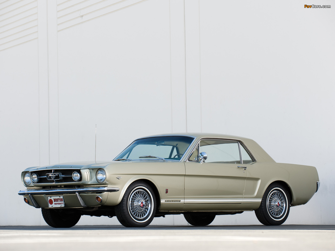 Mustang GT Coupe 1965 wallpapers (1280 x 960)