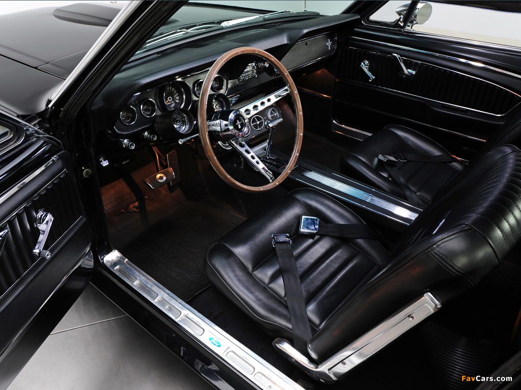 Mustang GT Coupe 1966 pictures (1024 x 768)
