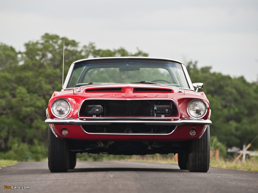 Shelby GT350 Convertible 1968 images (1024 x 768)