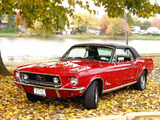 Mustang Coupe 1968 photos