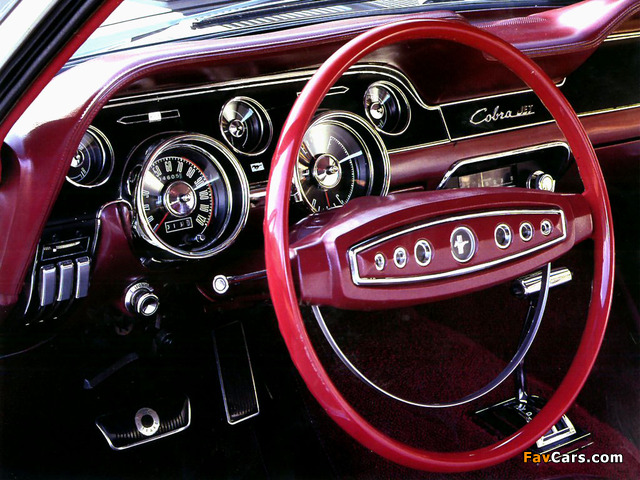 Mustang Fastback 1968 wallpapers (640 x 480)