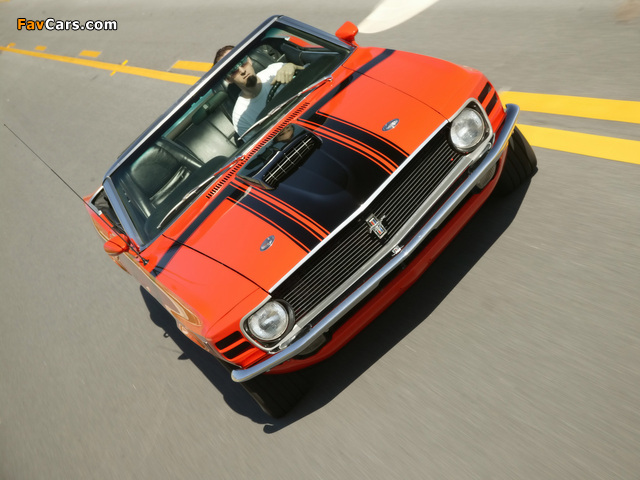 Mustang Convertible 1970 pictures (640 x 480)