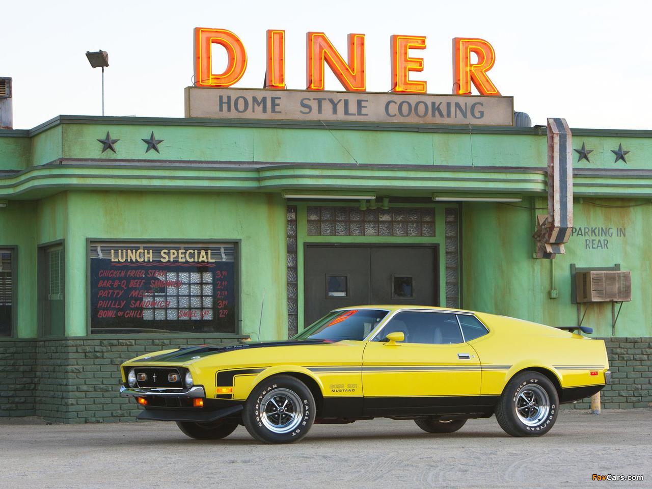 Mustang Boss 351 1971 images (1280 x 960)