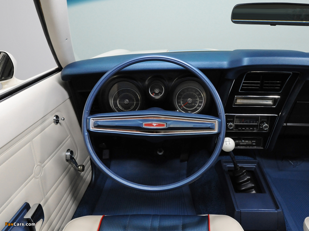 Mustang Sprint Sportsroof 1972 photos (1024 x 768)