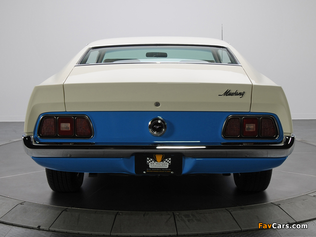Mustang Sprint Sportsroof 1972 pictures (640 x 480)