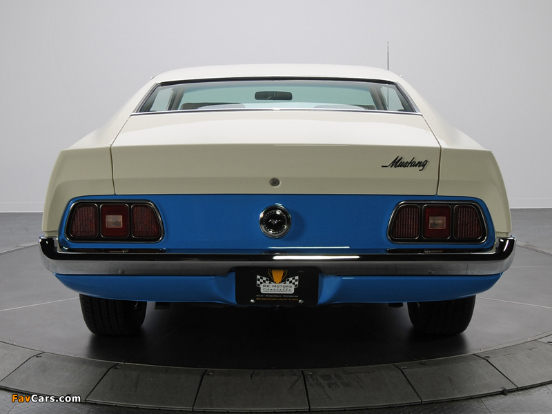 Mustang Sprint Sportsroof 1972 pictures (800 x 600)