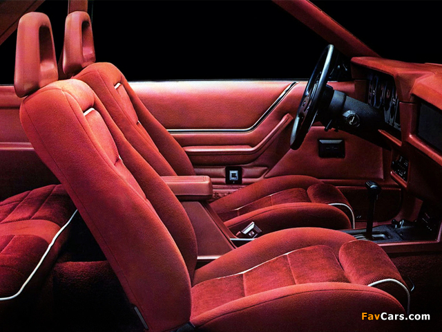 Mustang GT 5.0 1986 pictures (640 x 480)