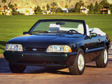 Mustang GT 5.0 Convertible 1987–93 pictures