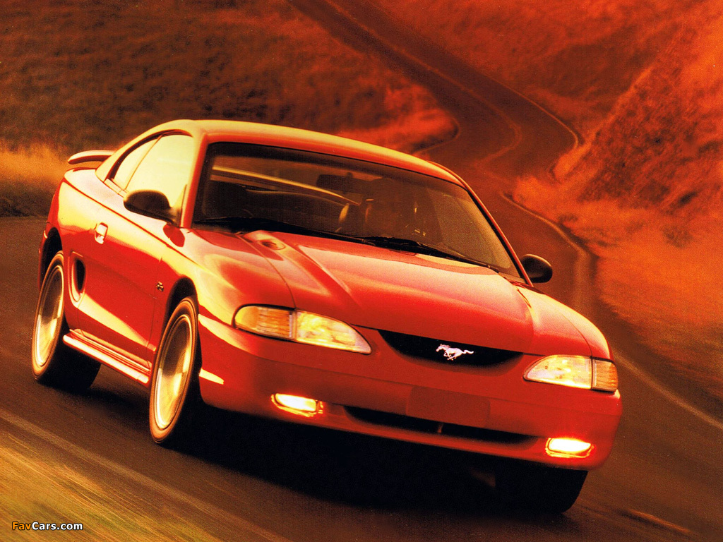 Mustang GT Coupe 1996–98 images (1024 x 768)