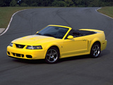 Mustang SVT Cobra Convertible 1999–2002 images
