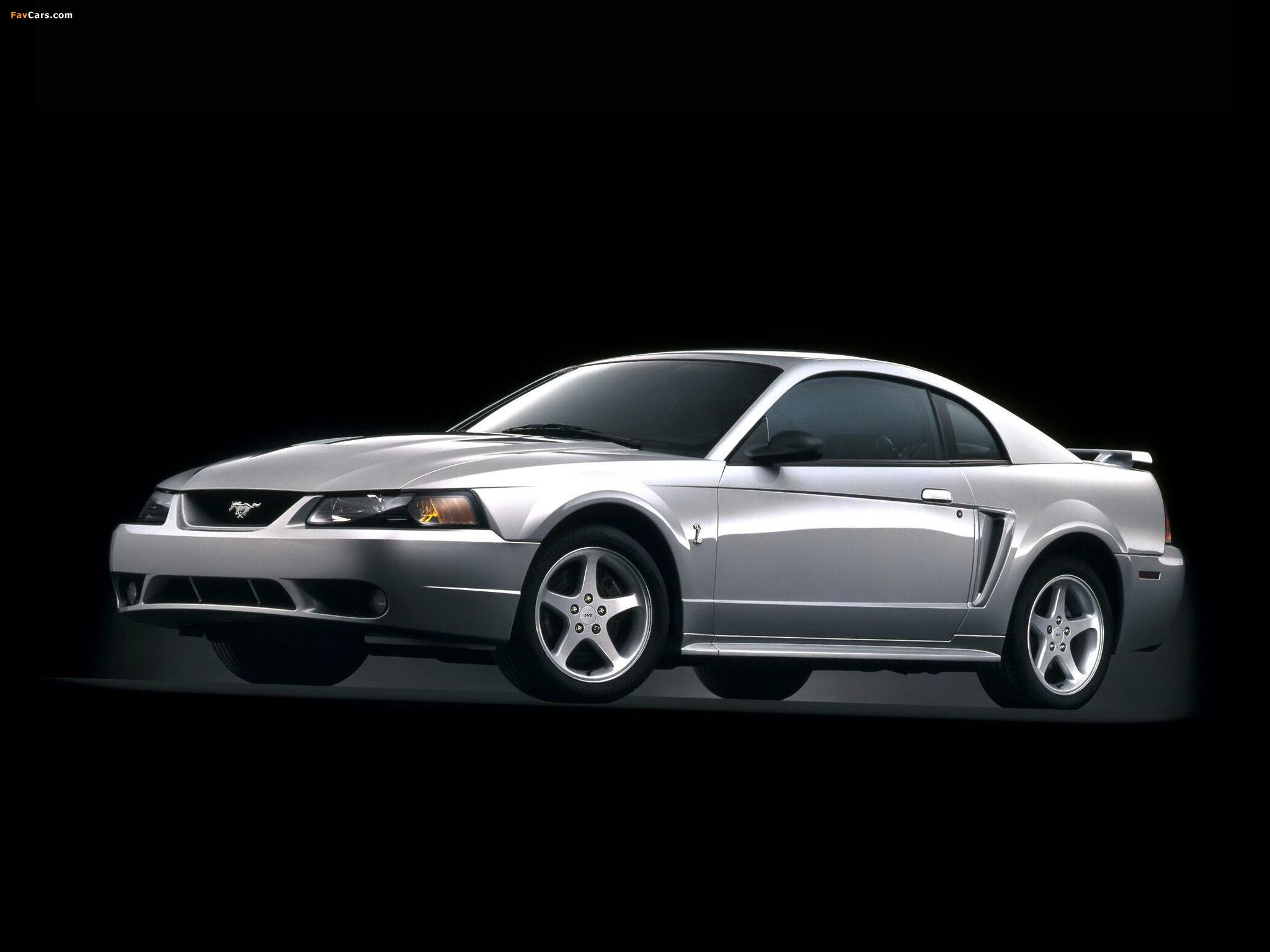 Mustang SVT Cobra Coupe 1999–2002 photos (2048 x 1536)