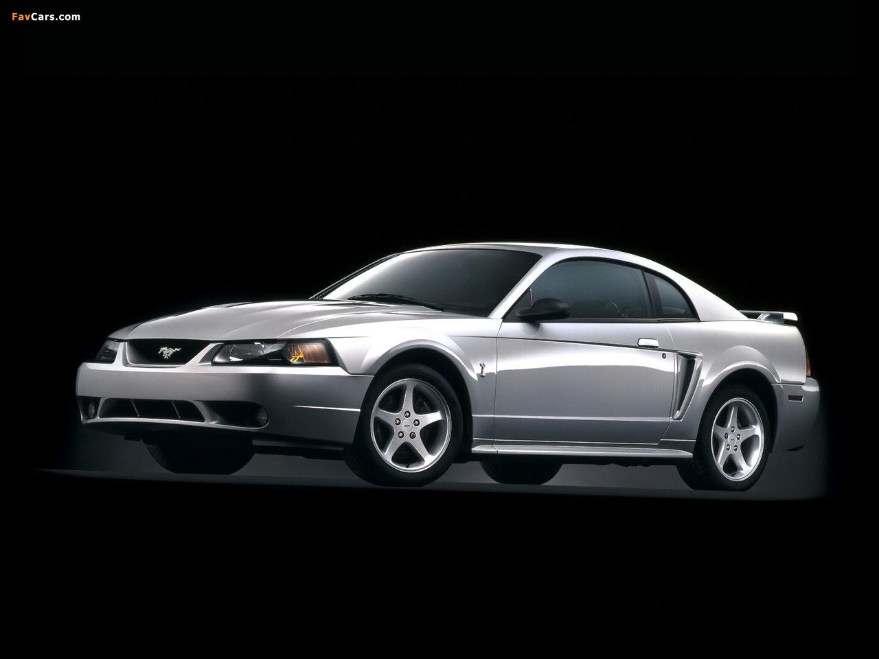 Mustang SVT Cobra Coupe 1999–2002 photos (1280 x 960)