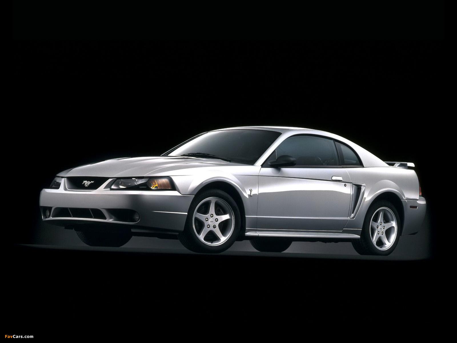 Mustang SVT Cobra Coupe 1999–2002 photos (1600 x 1200)