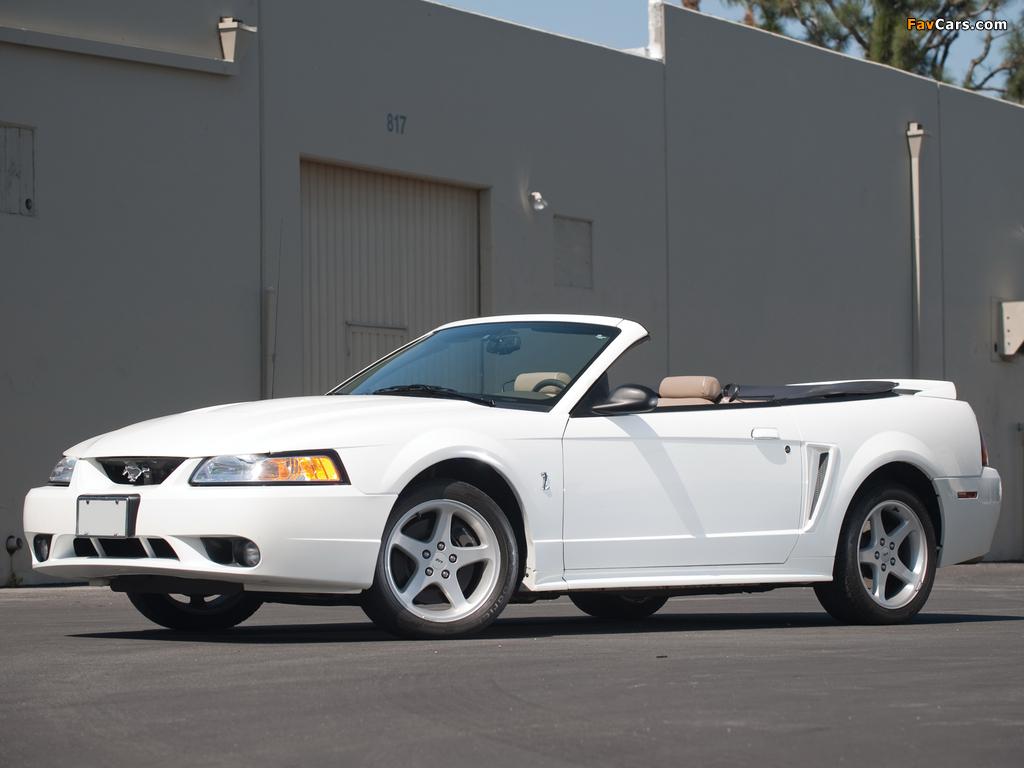 Mustang SVT Cobra Convertible 1999–2002 photos (1024 x 768)