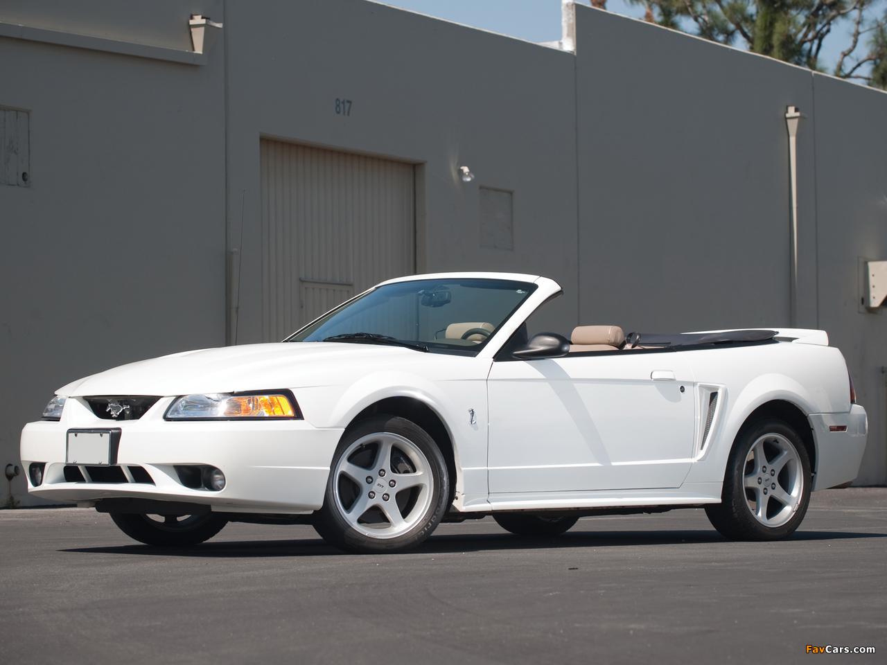 Mustang SVT Cobra Convertible 1999–2002 photos (1280 x 960)