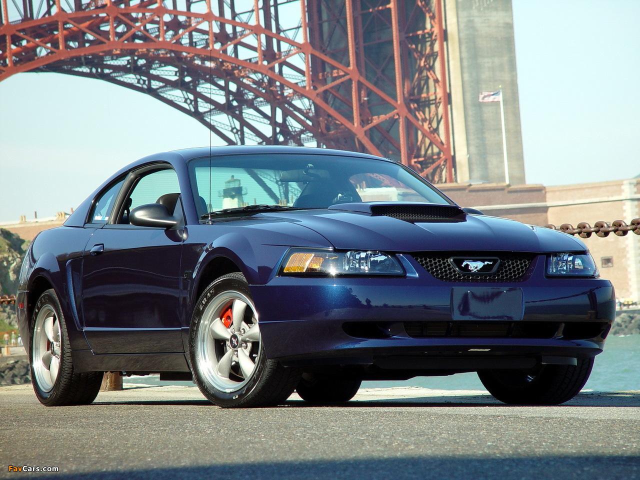 Mustang Bullitt Gt 2001 Wallpapers 1280x960