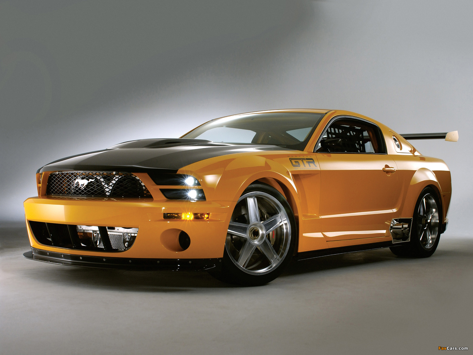 Mustang GT-R Concept 2004 pictures (1600 x 1200)