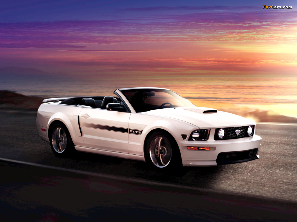 Mustang Gt California Special 2007 Images 1024x768