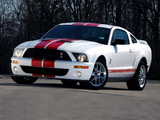 Shelby GT500 Red Stripe Appearance Package 2007 pictures
