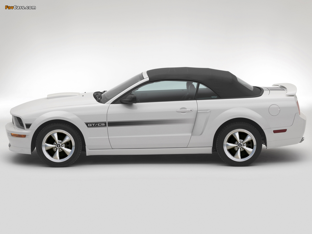 Mustang GT California Special 2007 wallpapers (1024 x 768)
