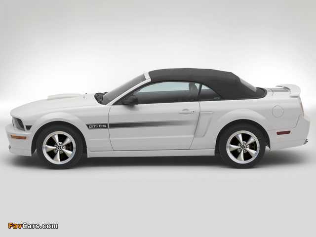 Mustang GT California Special 2007 wallpapers (640 x 480)