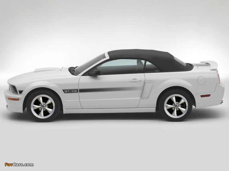 Mustang GT California Special 2007 wallpapers (800 x 600)