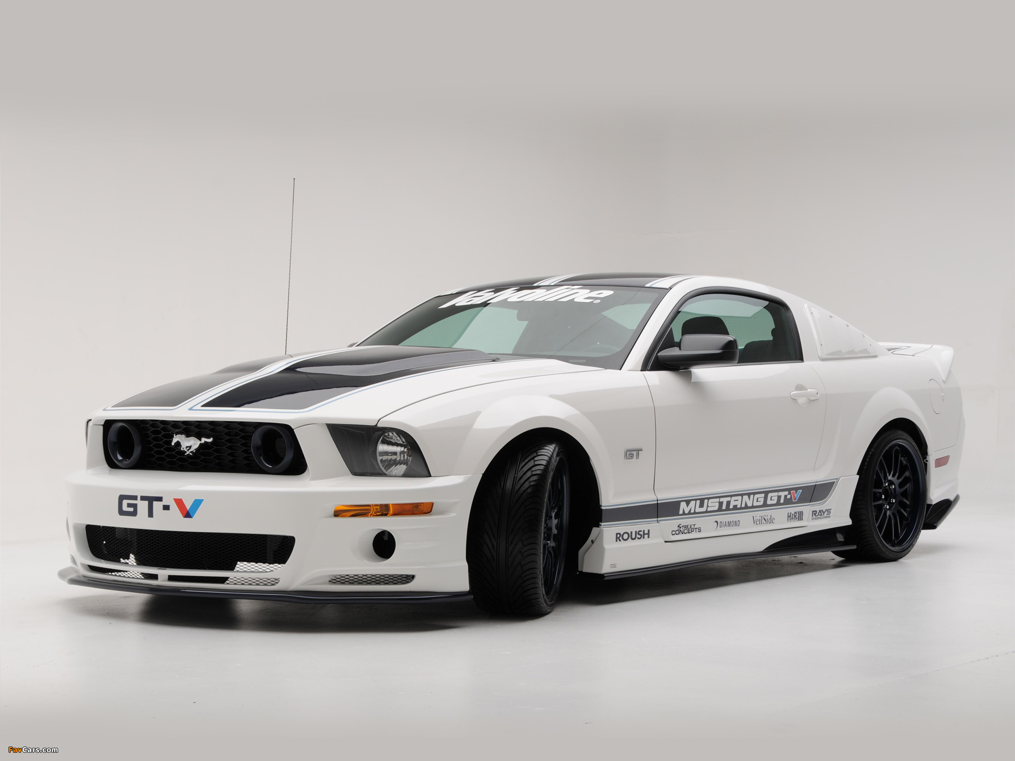roush mustang gt v 2008 wallpapers 2048x1536. Black Bedroom Furniture Sets. Home Design Ideas