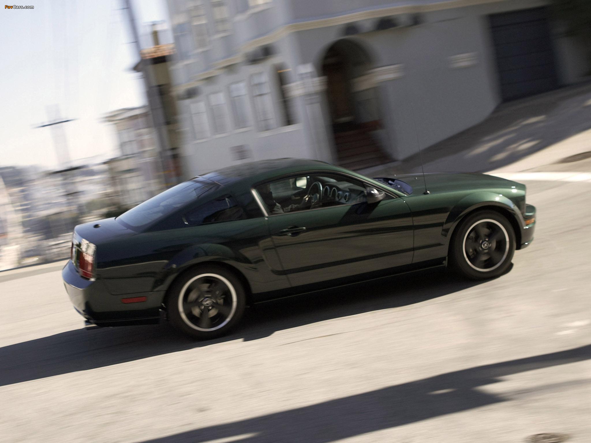 Mustang Bullitt 2008 wallpapers (2048 x 1536)