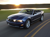 Mustang GT Convertible 2009–12 images