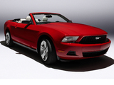 Mustang Convertible 2009–12 pictures