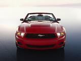 Mustang Convertible 2009–12 wallpapers
