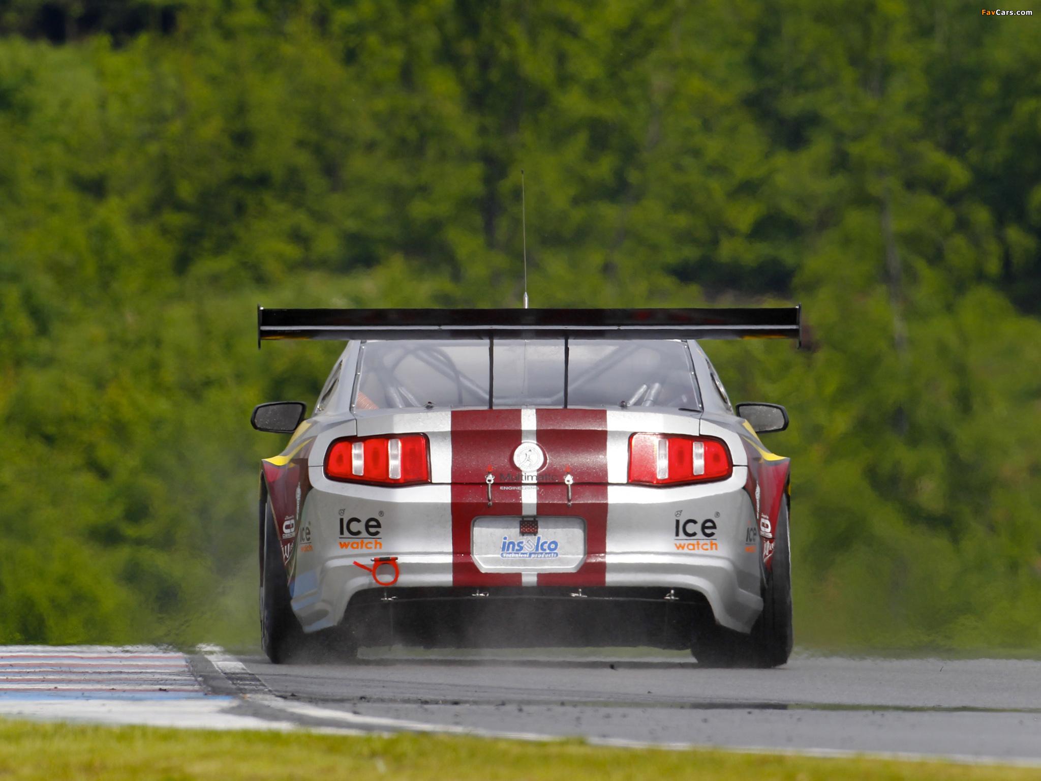 Mustang GT3 2010 photos (2048 x 1536)