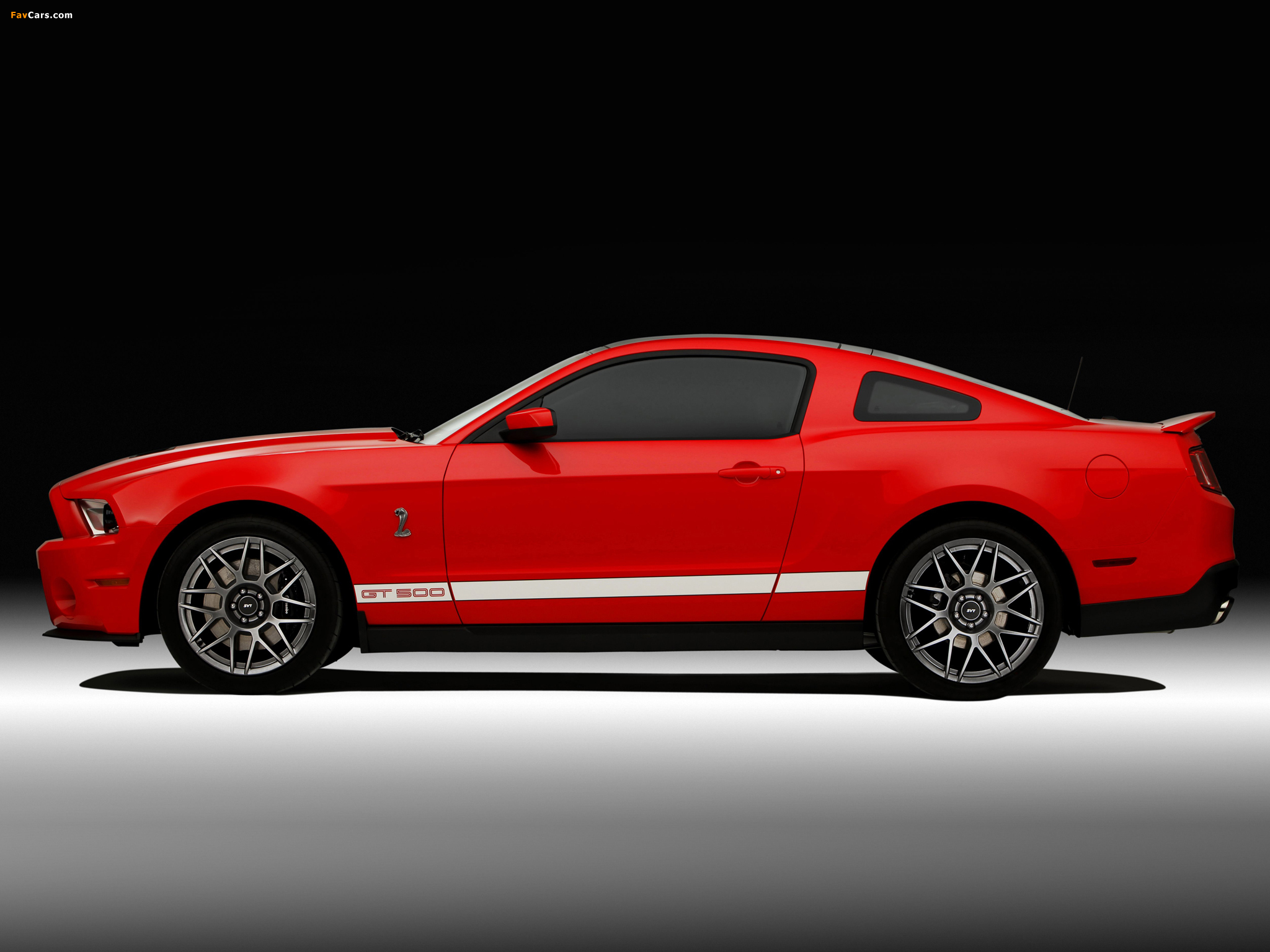 Shelby GT500 SVT 2010–12 pictures (2048 x 1536)
